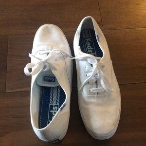 White Keds Size 9